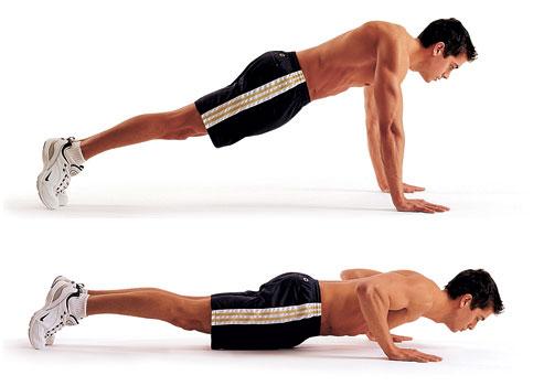 classic push up
